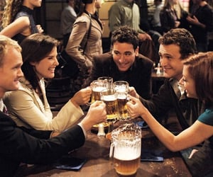 how i met your mother, himym, and TED image
