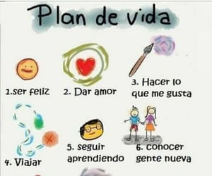 love, plan, and travel image