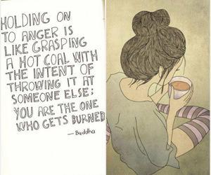 holding anger get burned image