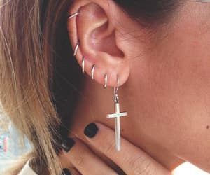 ear piercing, piercing, and accesories image