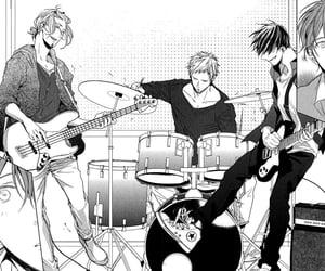 manga, given, and music image