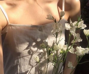 aesthetic, collarbone, and aesthetic white image