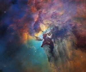 hubble, space, and nasa image