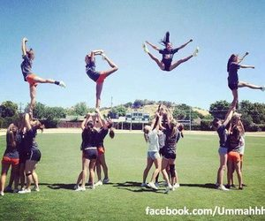 love, cheer, and cheerleading image