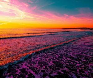 cloud, colour, and sea image