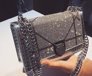 bag, shiny, and girl image