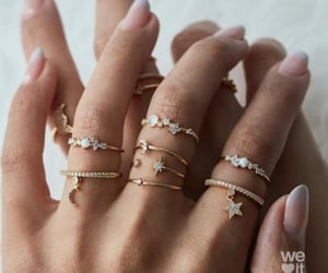 rings, accessories, and fashion image