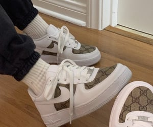 air force, gucci, and sneakers image