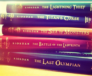 books, the last olympian, and percy jackson image