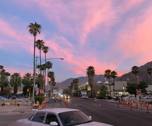 sunset, aesthetic, and california image