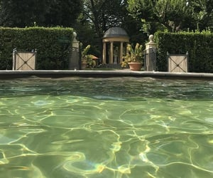 aesthetic, green, and pool image