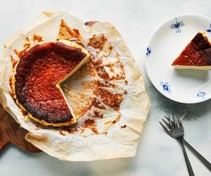 basque, spanish food, and cake image