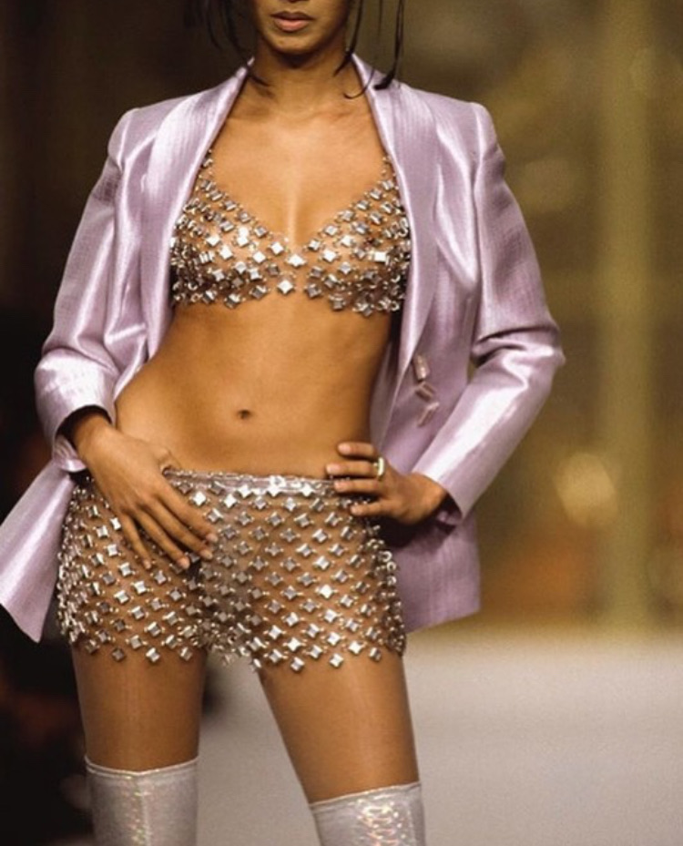 90s, 90s fashion, and 90s runway image