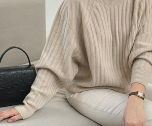 beige, clothes, and watch image