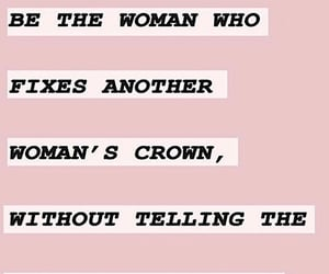 crown, girls, and words image