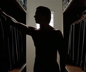 american psycho, christian bale, and headers image