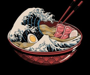 japan, ramen, and food image