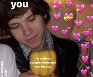 meme, wholesome, and panic!atthedisco image