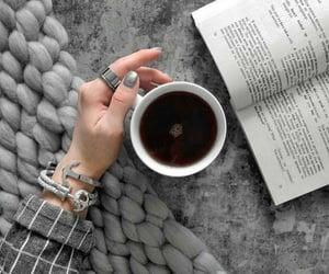 aesthetic, coffee, and grey image