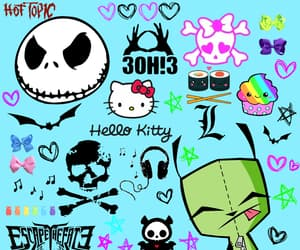 hot topic, 30h3, and Invader Zim image