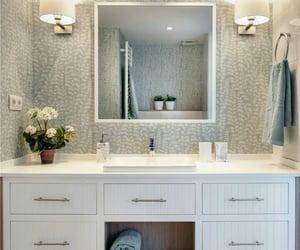 interiorism, bathroom, and house decoration image
