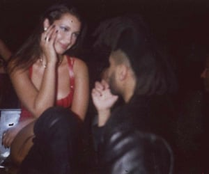 the weeknd, couple, and goals image