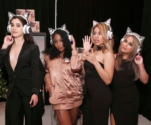 cat ears, fifth harmony, and down image