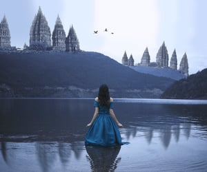 argentina, castle, and cielo image