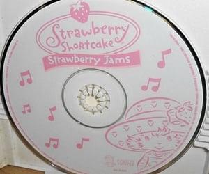 cd, strawberry shortcake, and aesthetic image