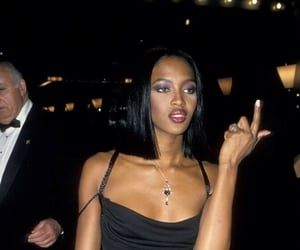 90s and Naomi Campbell image