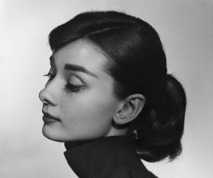audrey hepburn, vintage, and black and white image