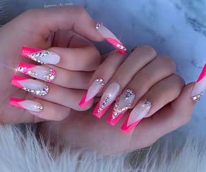 acrylic nails and nail art design image