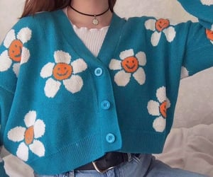 fashion, clothing, and flowers image