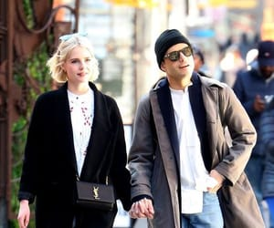 couple, rami malek, and lucy boynton image