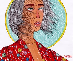 art, pain, and female image