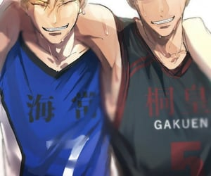 handsome, kise ryota, and aomine daiki image