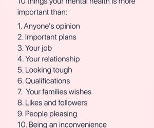 mental health, quotes, and words image