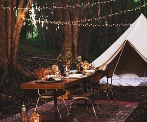 camping and lights image
