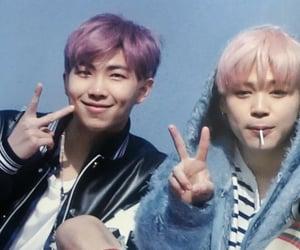 leader, v, and kim namjoon image