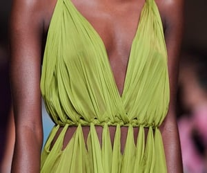 chic, green, and aesthetic image