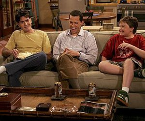 two and a half men, two and a half man, and charlie haper image