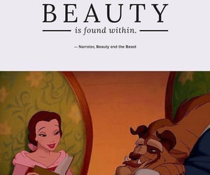 beauty and the beast, disney, and disney quotes image