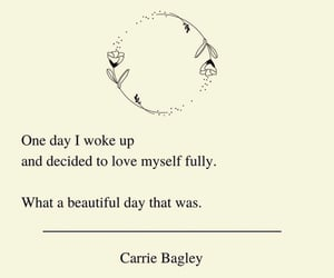 poetry, quotes, and self-love image
