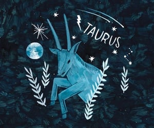 art, astrology, and blue image