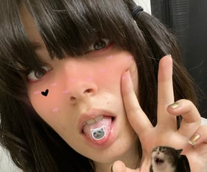 alternative, emo, and makeup image