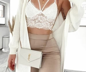 beige, fashionable, and style image