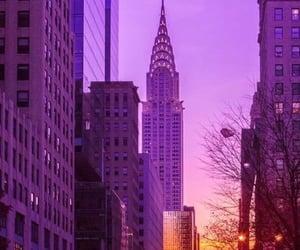 america, architecture, and big apple image
