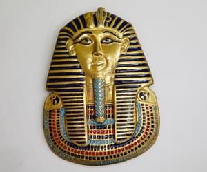 etsy, pharaoh pendant, and egyptian pharaoh image