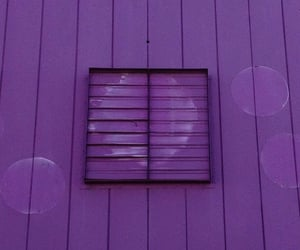 facade, purple, and wall image
