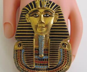etsy, vintagevoguetreasure, and egyptian revival image